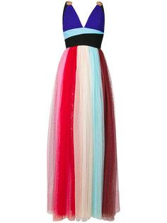платье колор блок  Fausto Puglisi