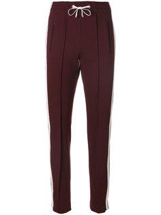 спортивные брюки с полосками  Dondup