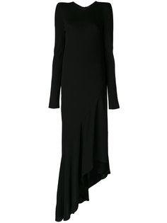 асимметричное платье  Haider Ackermann