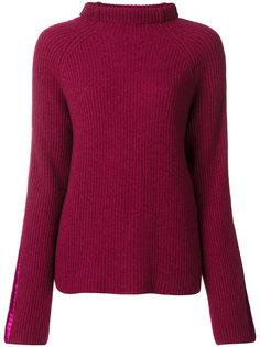 свитер с отворотом  Haider Ackermann