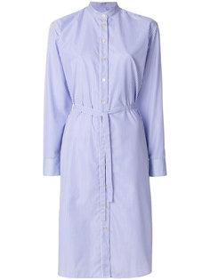 платье-рубашка в тонкую полоску Paul Smith