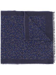 шарф с леопардовым узором Ps By Paul Smith