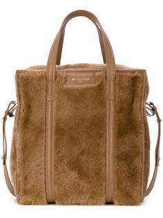 сумка-шоппер из овечьей шерсти Bazar Balenciaga