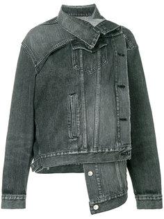 джинсовая куртка Pulled Balenciaga