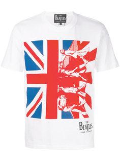 футболка Union Jack Comme Des Garçons Play