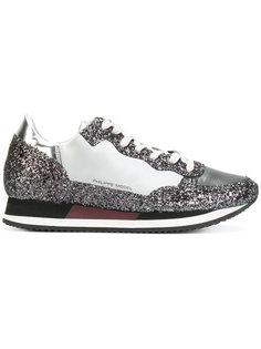 кроссовки с блестками Philippe Model