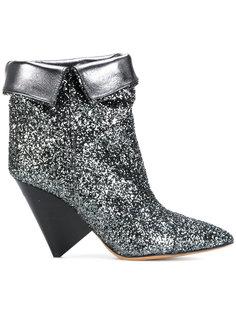 ботинки Luliana с блестками Isabel Marant