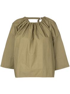 блузка с воротником со сборкой Astraet