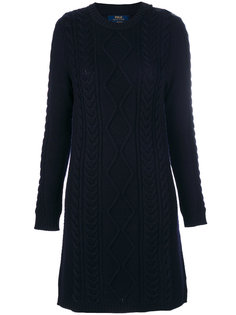 платье с узором косы Polo Ralph Lauren
