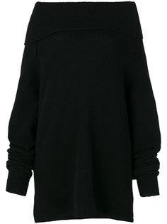 свитер с открытыми плечами  Barena