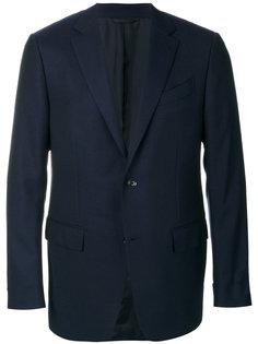 деловой приталенный пиджак Ermenegildo Zegna