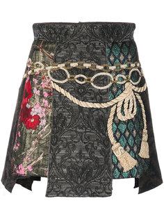 жаккардовая мини юбка Dolce & Gabbana