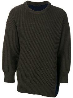 свитер дизайна колор-блок Cédric Charlier