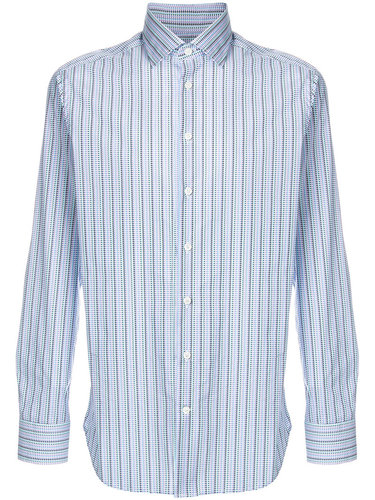 полосатая рубашка с длинными рукавами Etro