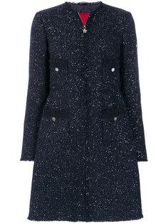 пальто с пайетками Moncler Gamme Rouge