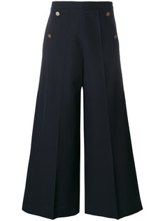 брюки-палаццо с завышенной талией  Valentino
