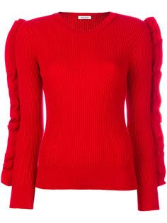 свитер с оборками P.A.R.O.S.H.