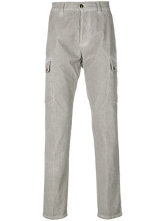 брюки-чинос в стиле карго Eleventy