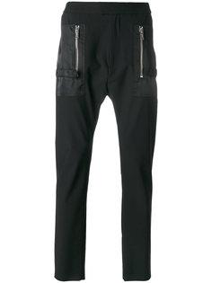 брюки с заниженной проймой Les Hommes