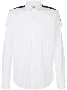 рубашка с полосками на плечах Les Hommes