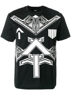 футболка с графическим узором Les Hommes