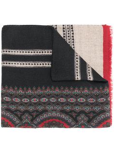 шарф с принтом логотипа Etro