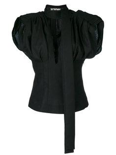 блузка с объемными рукавами  Jacquemus