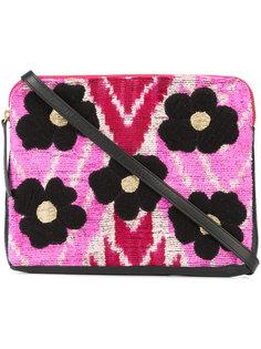 Flower Safari clutch Lizzie Fortunato Jewels