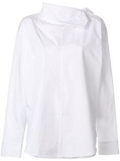 рубашка с горловиной на пуговицах сбоку Ys Y`s