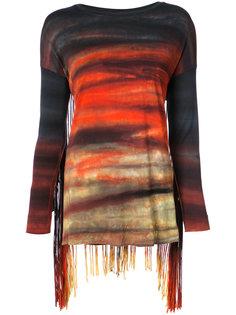 tassel detail long sleeved T-shirt Raquel Allegra
