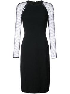 tulle sleeve dress Jason Wu
