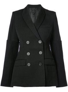 double-breasted blazer Vera Wang