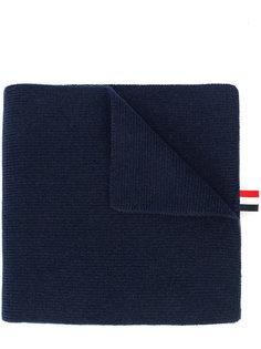 шарф с контрастными полосками Thom Browne