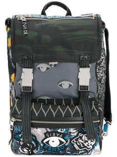 рюкзак с графическим принтом Kenzo