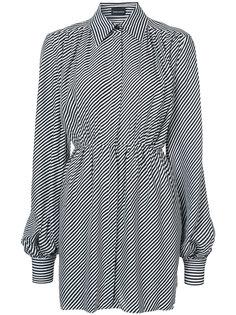 полосатое платье-рубашка Magda Butrym