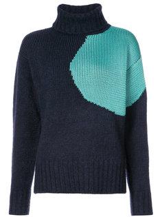 свитер в стиле колор блок 3.1 Phillip Lim