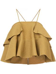 ruffled camisole Rachel Comey