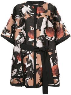 jacquard oversized jacket Roksanda