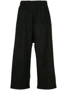 укороченные широкие брюки  Uma Wang