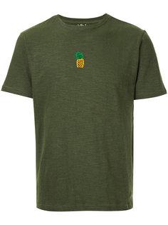 футболка с вышитым ананасом Jupe By Jackie