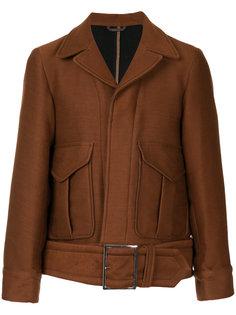 куртка с поясом Maison Mihara Yasuhiro