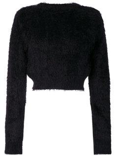 фактурный укороченный свитер  Faith Connexion