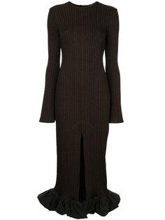 платье Celeste Flare Sleeve Rib Ellery