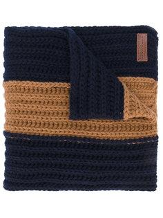 двухцветный шарф Dsquared2