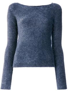 ворсистый свитер с круглым вырезом Twin-Set