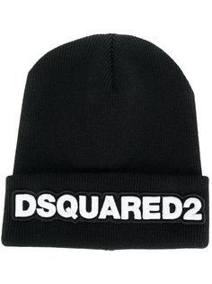 шапка с логотипом Dsquared2