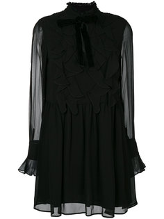 платье с оборками Twin-Set