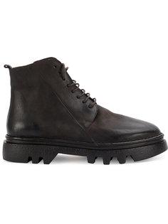 ботинки по щиколотку на массивной подошве Marsèll
