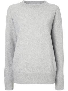свитер с оборками на рукавах  Laneus
