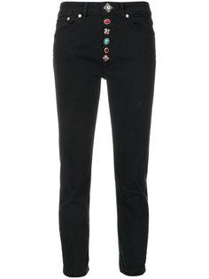 декорированные джинсы Dondup